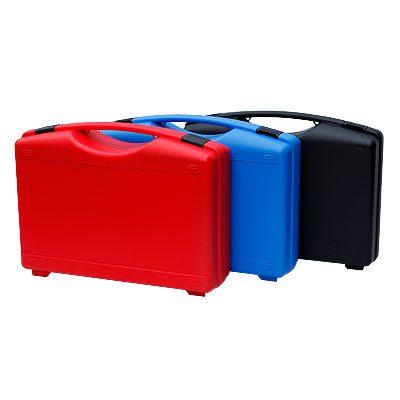 miboboxen rot, blau, schwarz